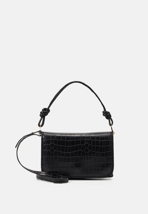 ENVELOPE BAG GOGH - Kabelka - black