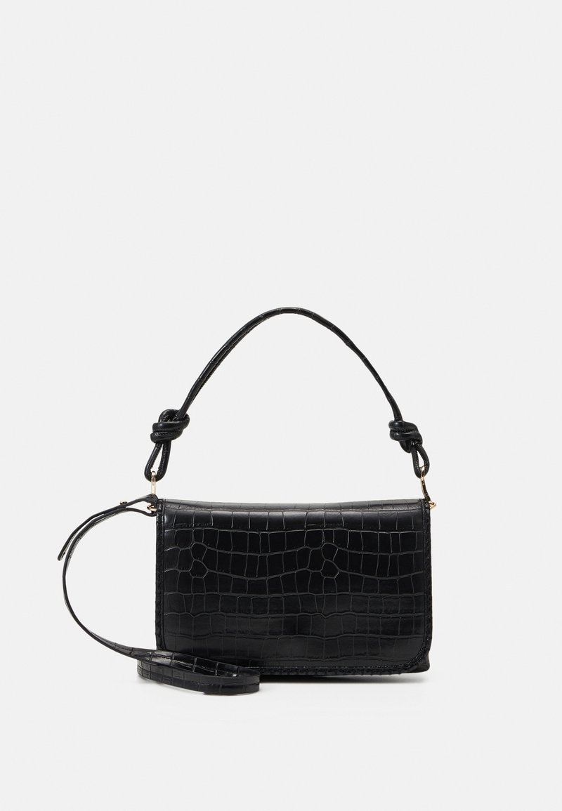 PARFOIS - ENVELOPE BAG GOGH - Kabelka - black