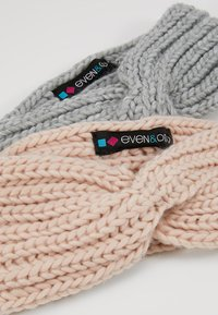 Even&Odd - 2 PACK - Ørevarmere - rose/grey - 5