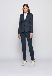 BOSS - TAHWENA - Trousers - patterned - 1