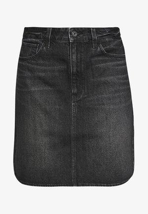 3301  - Denimová sukně - black stone