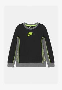Nike Sportswear - COLOR BLOCKED CREW - Felpa - black - 0