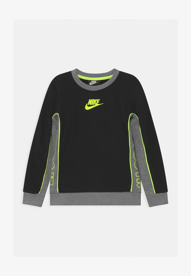 Nike Sportswear - COLOR BLOCKED CREW - Felpa - black