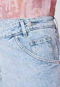 Monki - Mini skirt - light blue - 5