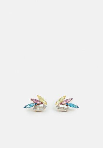 OMEGA CLASP WINGS - Earrings - multicoloured