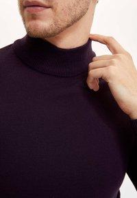 DeFacto - Stickad tröja - purple - 3
