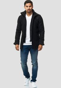 INDICODE JEANS - MÄNTEL BRITTANY - Light jacket - black - 1