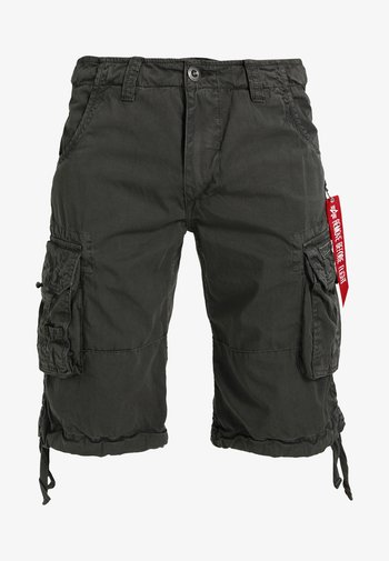 JET - Shorts - grey/black