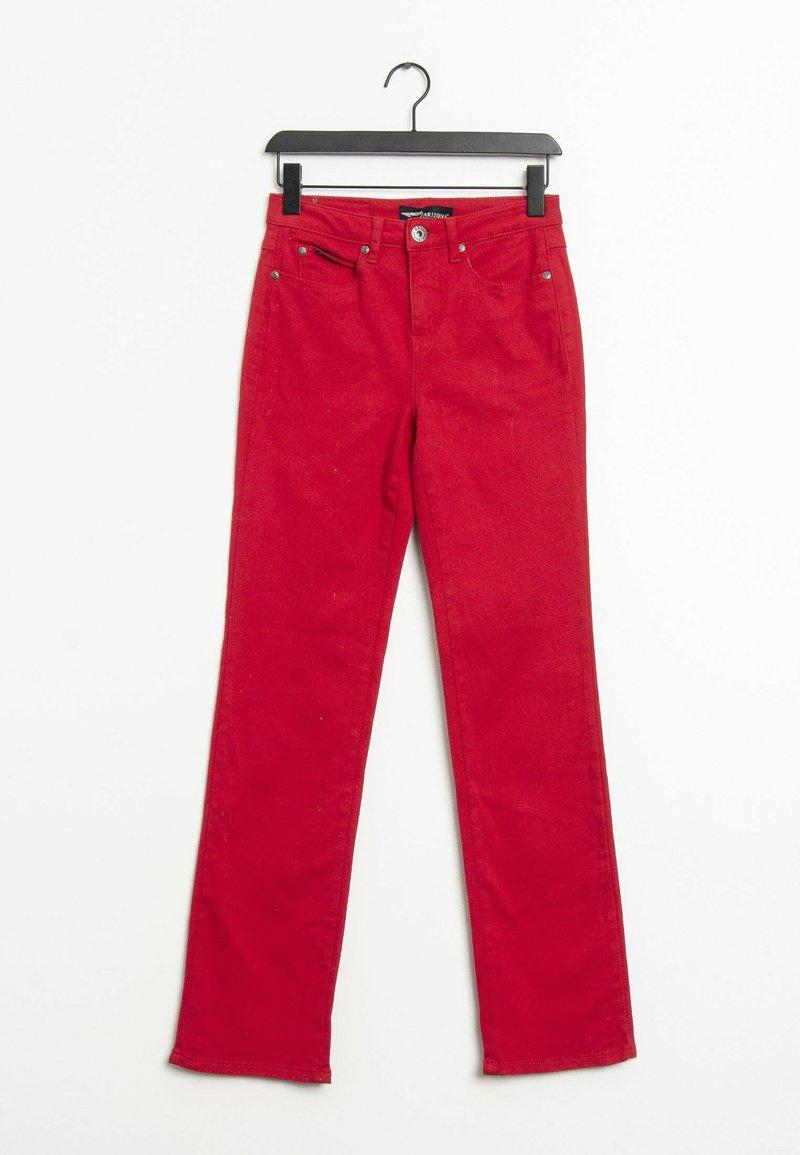 ARIZONA - Straight leg jeans - red