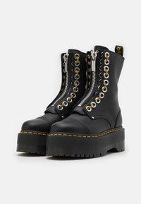 Dr. Martens - SINCLAIR HI MAX - Platform ankle boots - black pisa - 2