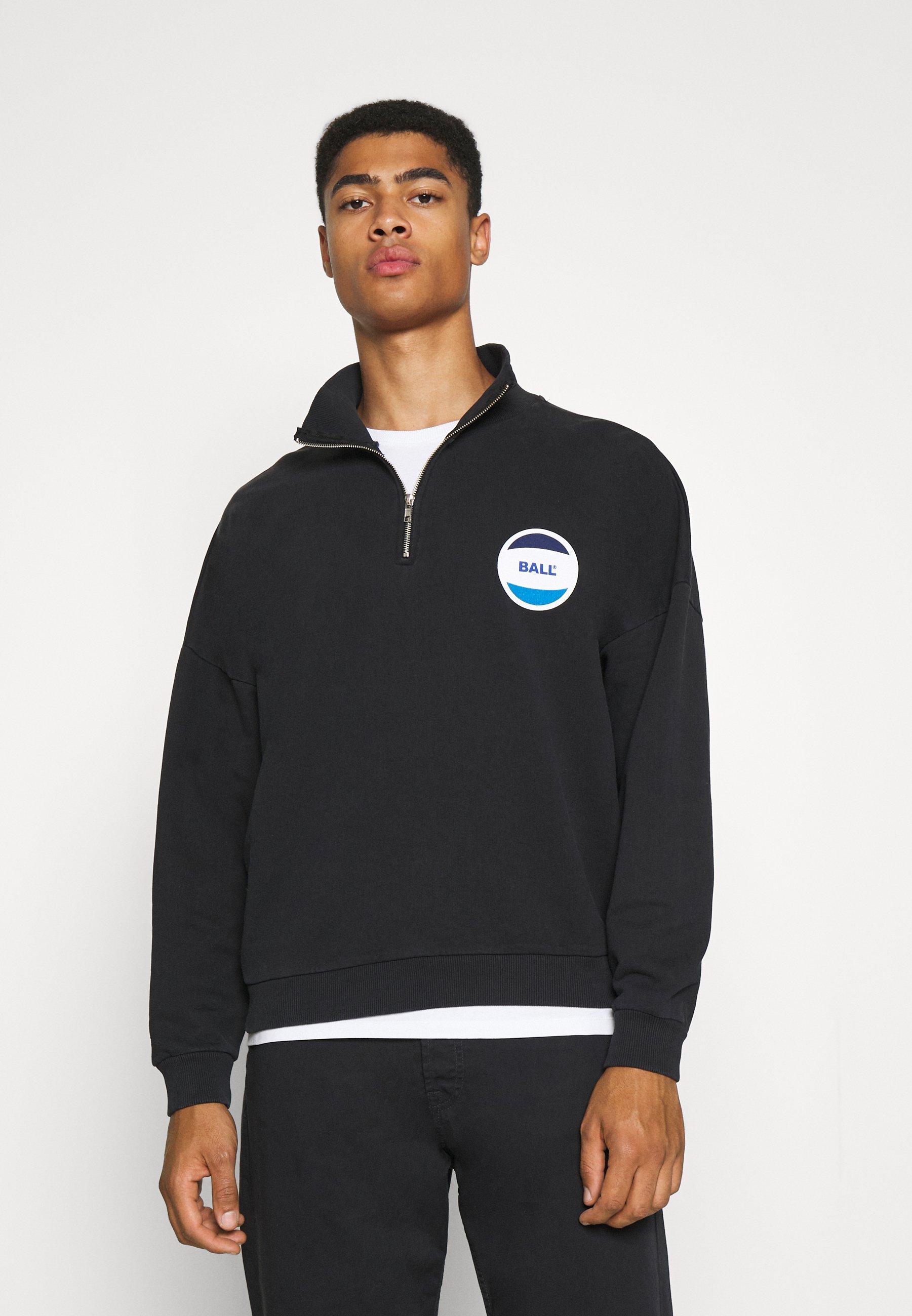 Men BALL CIRCLE HALF ZIP - Sweatshirt