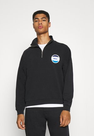 BALL CIRCLE HALF ZIP - Sweatshirt - black