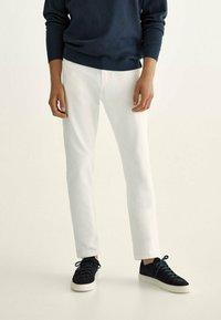 Massimo Dutti - Straight leg jeans - grey - 0