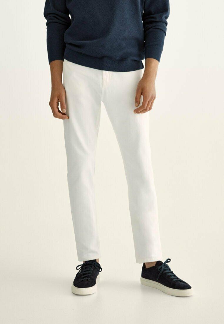 Massimo Dutti - Straight leg jeans - grey