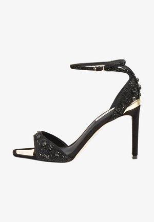 DIVINEE - High Heel Sandalette - schwarz