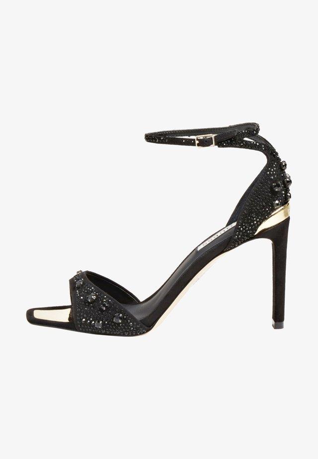 DIVINEE - Sandalen met hoge hak - schwarz