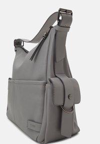 Esprit - LIZ HOBO - Käsilaukku - light grey - 3
