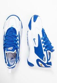 Nike Sportswear - ZOOM  - Sneakers - white/game royal - 1