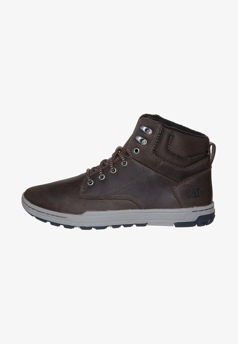 Cat Footwear - COLFAX - Šněrovací kotníkové boty - dark brown