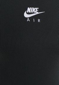 Nike Sportswear - AIR DRESS - Vestido de tubo - black/iron grey/white - 2