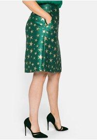 Sheego - A-line skirt - powergrün - 3