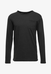 YOURTURN - Long sleeved top - black - 3