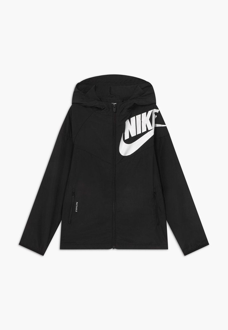 Nike Sportswear - WINDRUNNER - Training jacket - black/white