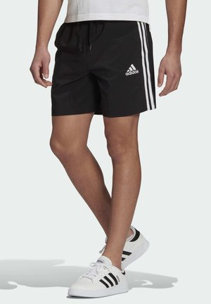 AEROREADY ESSENTIALS CHELSEA 3-STRIPES SHORTS - Sports shorts - black