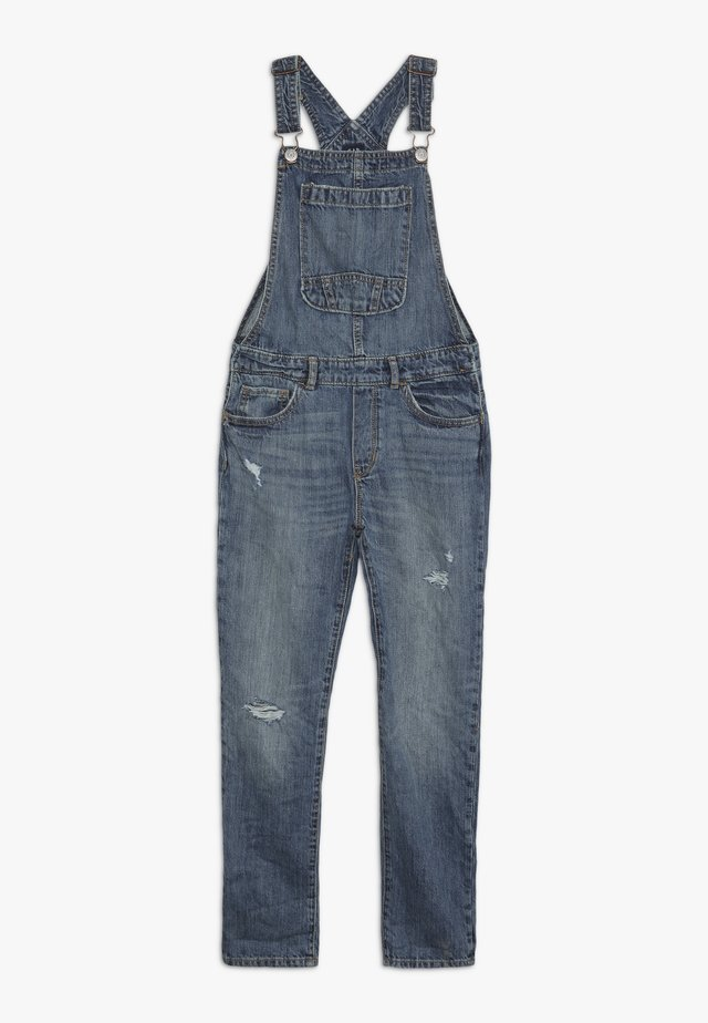 GIRL OVERALL - Peto - medium indigo