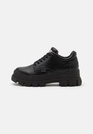 ASPHA - Zapatos con cordones - black