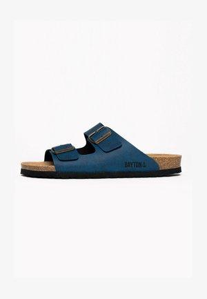 Sandaler - blue denim