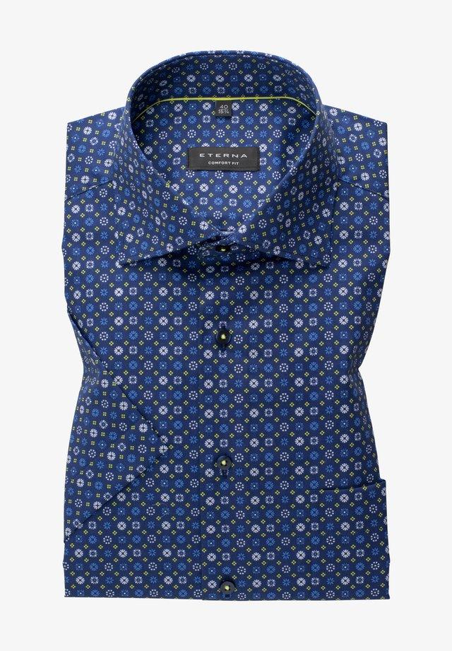 COMFORT FIT - Skjorte - blau/grün
