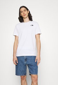 The North Face - SLICE TEE - T-shirt med print - white - 0