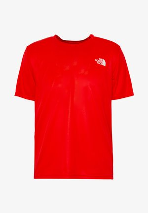 REAXION BOX TEE - T-Shirt print - fiery red