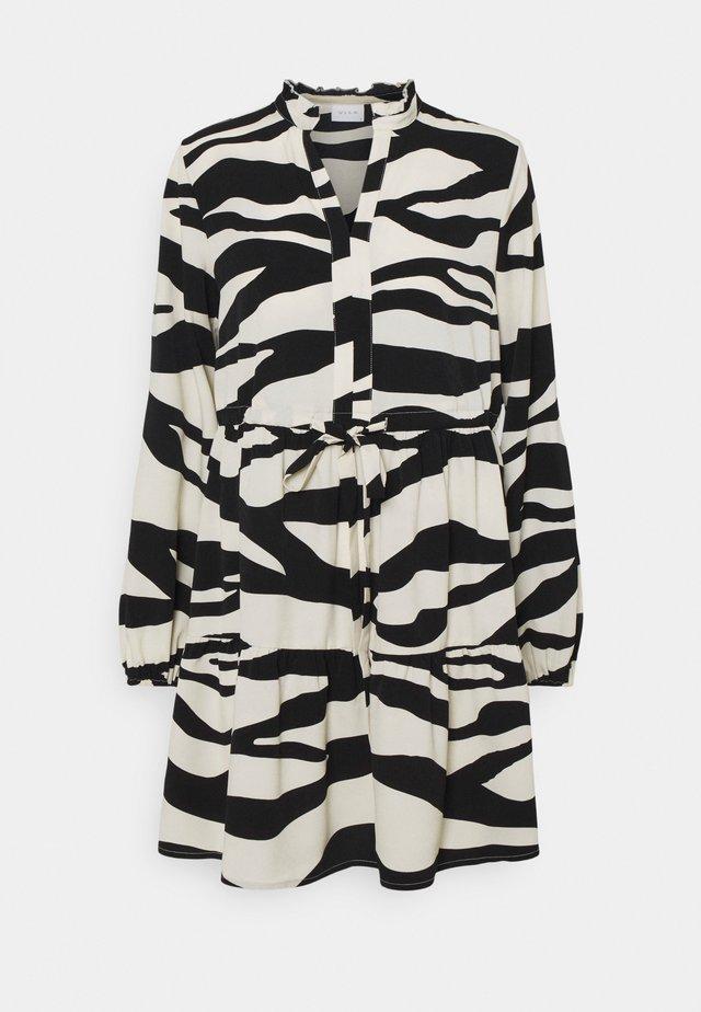 VIOMINA DRESS - Korte jurk - black