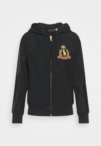 Zip-up sweatshirt - polo black