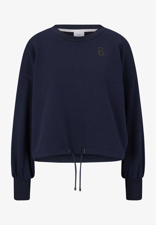 SANA - Sweatshirt - navy-blau