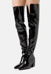 RAID - PHYLLIS - Kozačky nad kolena - black - 0