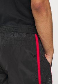 Glorious Gangsta - HARLAN SWIMSHORTS - Shorts - black - 3