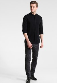 Pier One - Shirt - black - 1