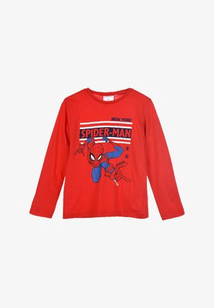 SPIDER-MAN - Long sleeved top - rot