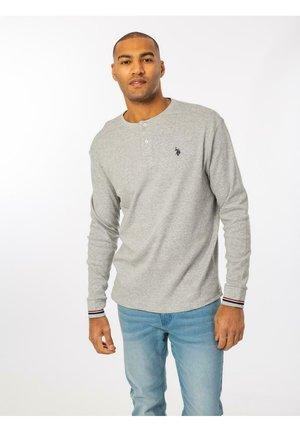 COSIMO GRANDDAD - Bluzka z długim rękawem - grey melange