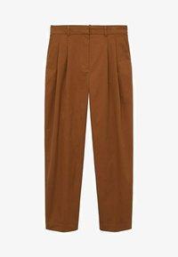 Mango - Trousers - bruin - 6