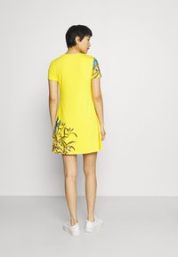 Desigual - LAS VEGAS - Jersey dress - yellow - 2
