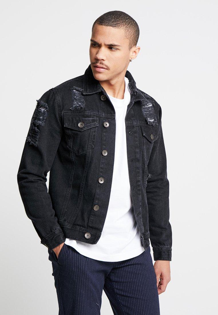 Redefined Rebel - JASON JACKET - Denim jacket - lava stone
