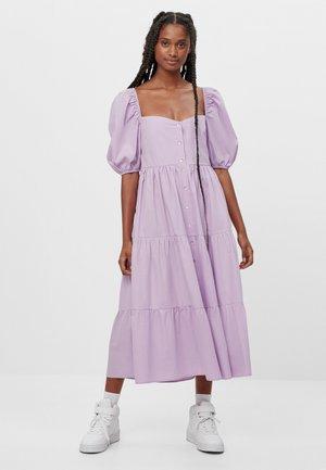 MIT VOLANTS  - Maxi šaty - mauve