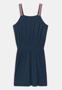 Lemon Beret - TEEN GIRLS - Vestito di maglina - blue - 1