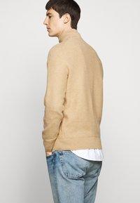 Polo Ralph Lauren - LONG SLEEVE  - Jersey de punto - camel melange - 3