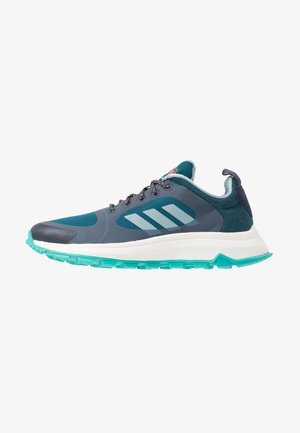 RESPONSE TRAIL  - Neutral running shoes - trace blue/ash grey/tech mint