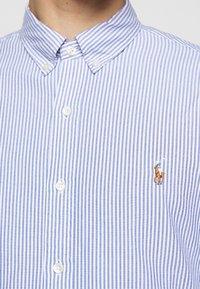 Polo Ralph Lauren - OXFORD - Vapaa-ajan kauluspaita - blue/white - 5